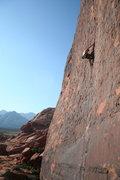 Rock Climbing Photo: SteveZ on the super-classic Running Man