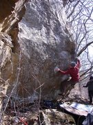 Rock Climbing Photo: Love this problem. Photo: T. Melin