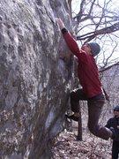 Rock Climbing Photo: Snatch! Photo: T. Melin