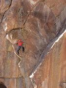 Rock Climbing Photo: Christopher Jones steppin' up on SO WILD.