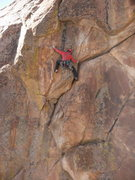 Rock Climbing Photo: The WILD finish.