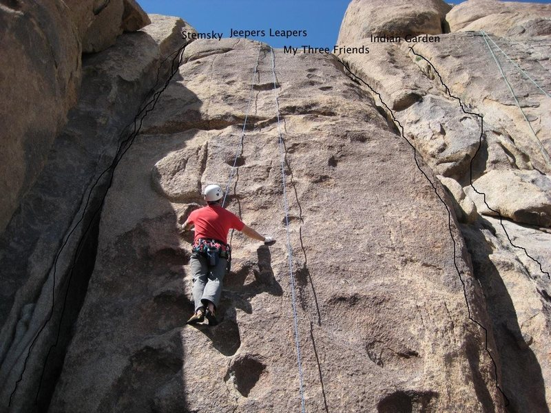 Rock Climbing Photo: Whispering Wall left side