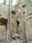 Rock Climbing Photo: Ben Lyon on 31 Mar 07