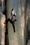Rock Climbing Photo: Getting Showered late in the season on the large p...