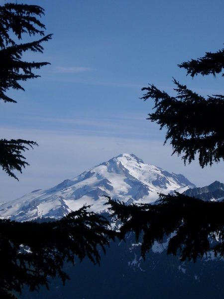Rock Climbing Photo: Glacier Peak From Afar