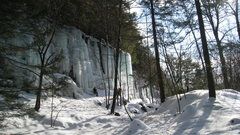Rock Climbing Photo: Thomaston Ice Park