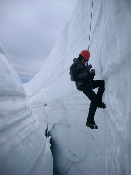 Rock Climbing Photo: The interior of a crevasse