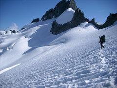 Rock Climbing Photo: Respectfuly (N.NorthEast of Eldorado Peak)
