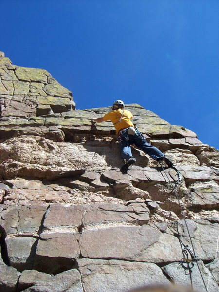 Rock Climbing Photo: Roadside climbing at its finest. The Airy Block in...