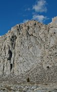 Rock Climbing Photo: PSOM Slab from the road