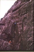 Rock Climbing Photo: Korea 1 1975