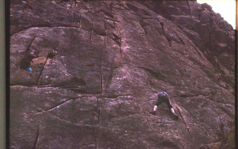 Rock Climbing Photo: Korea 3 1975