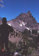 Rock Climbing Photo: On the approach to Three Fingered Jack - 1978