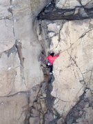 Rock Climbing Photo: The Gig, 5.10b.