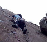 Rock Climbing Photo: BH on Sweet, 5.11a.