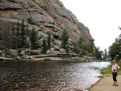 Rock Climbing Photo: Gem Lake, Lumpy Ridge, Estes Park