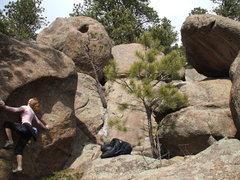 Rock Climbing Photo: Buttonrock Reservoir, near Lyons, CO
