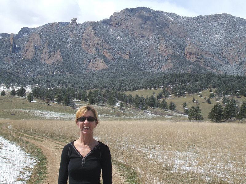 The Flatiron's of Boulder, Colorado
