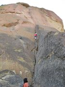 Rock Climbing Photo: Spiderman Variation