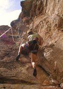 Rock Climbing Photo: climbing @ jacks canyon, az