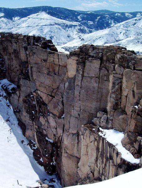 Rock Climbing Photo: Crater Crag.
