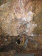 Rock Climbing Photo: Three finger pocket route.