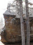 Rock Climbing Photo: Lose the arete and climb up.