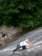 Rock Climbing Photo: Light and lively In Squamish