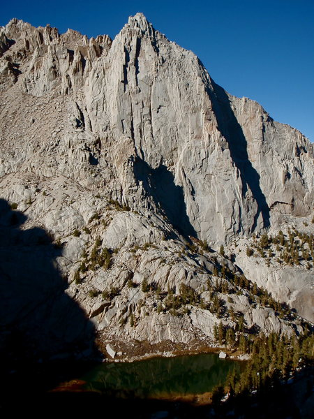 Thor Peak and Mirror Lake.