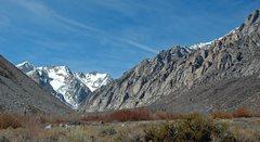Rock Climbing Photo: Pine Creek Canyon