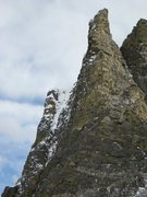 Rock Climbing Photo: Andrews Tower, as seen from the west (on Andrews G...