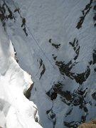 Rock Climbing Photo: Dougald following P3.