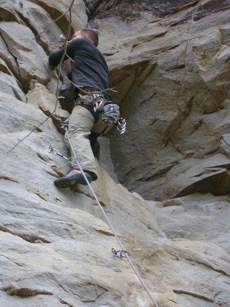Rock Climbing Photo: again.