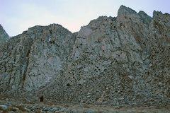 Rock Climbing Photo: The Scheelite Crags