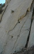 Rock Climbing Photo: The bottom of 'Wanted Man'