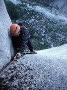 Rock Climbing Photo: Chino jugging P6.