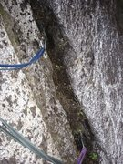 Rock Climbing Photo: Did I mention that there was a LOT of cleaning.  Y...