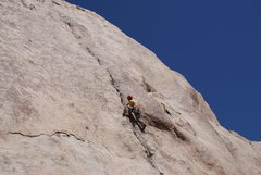 Rock Climbing Photo: Leading Mental Physics