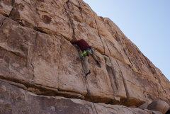 Rock Climbing Photo: Straight forward 5.8.  I think it's a really soft ...