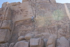 Rock Climbing Photo: Easy 5.7