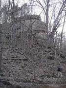 Rock Climbing Photo: Crackface crag