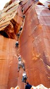 Rock Climbing Photo: A nice sequence of Matt nearly onsighting IHC