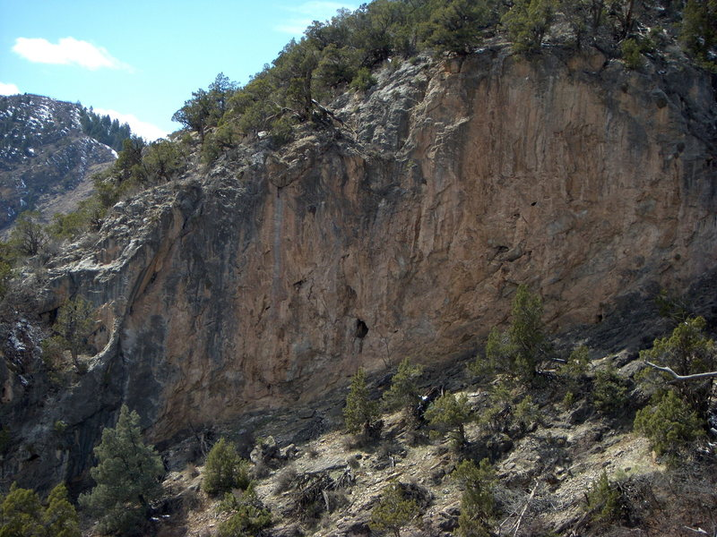 Hole Wall at East Canyon in Glenwood Canyon.