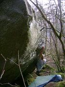 Rock Climbing Photo: Frantic