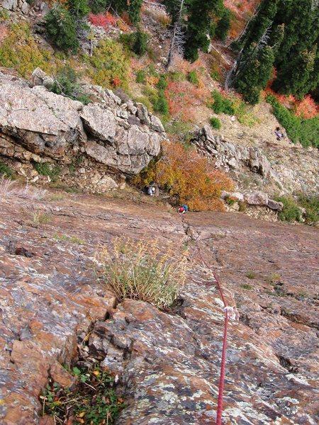 Pitch 1 of Jam Crack, Big Cottonwood Canyon, UT