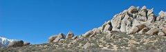 Rock Climbing Photo: West side of 'Buttermilks Main'