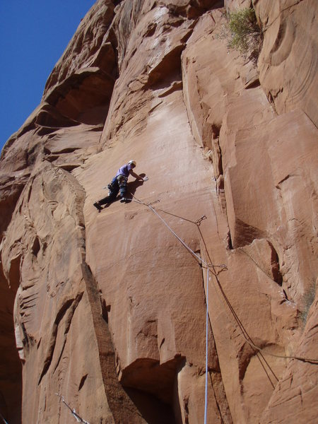 Rock Climbing Photo: Yes this is an amazing pitch!