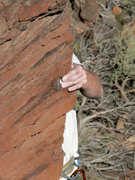 Rock Climbing Photo: Moves requiring dodging and weaving to each side o...