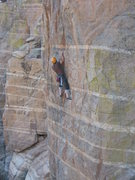 Rock Climbing Photo: Eric on Arizona Flyaways.  Photo by Jon Ruland