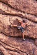 Rock Climbing Photo: Goin' Postal.